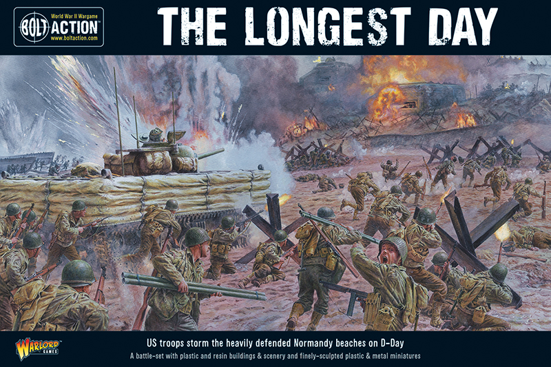 The Longest Day Bolt Action Set - Warlord Games