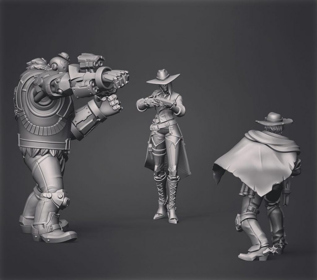 The Trio #2 - Klukva Miniatures