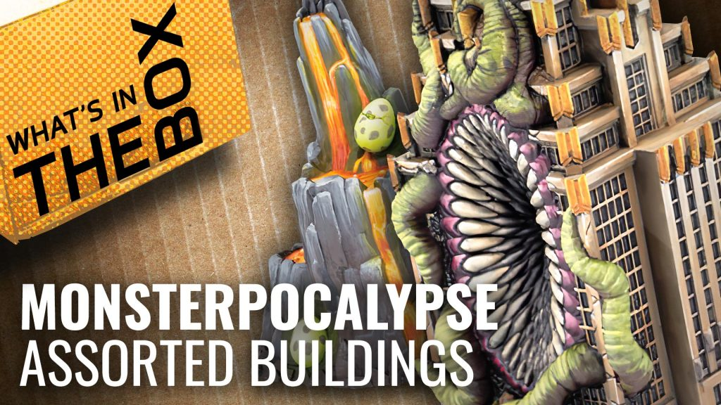 Unboxing: Monsterpocalypse - Assorted Buildings