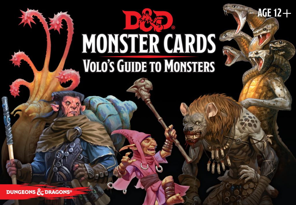 Volo's Guide To Monsters Card Set - Gale Force Nine