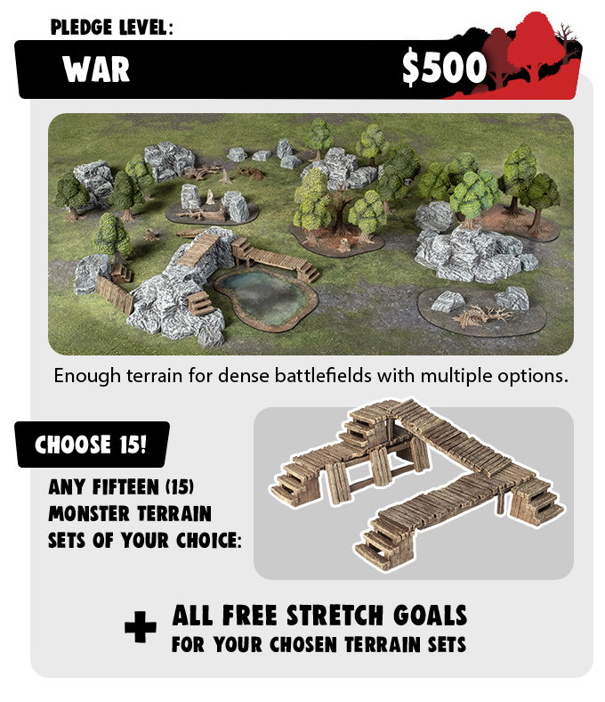 War Pledge - Monster Terrain