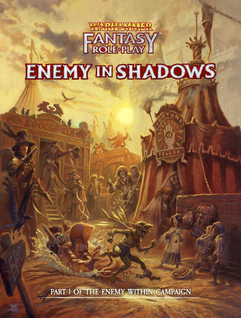 Warhammer Fantasy Role-Play Enemy In Shadows - Cubicle 7