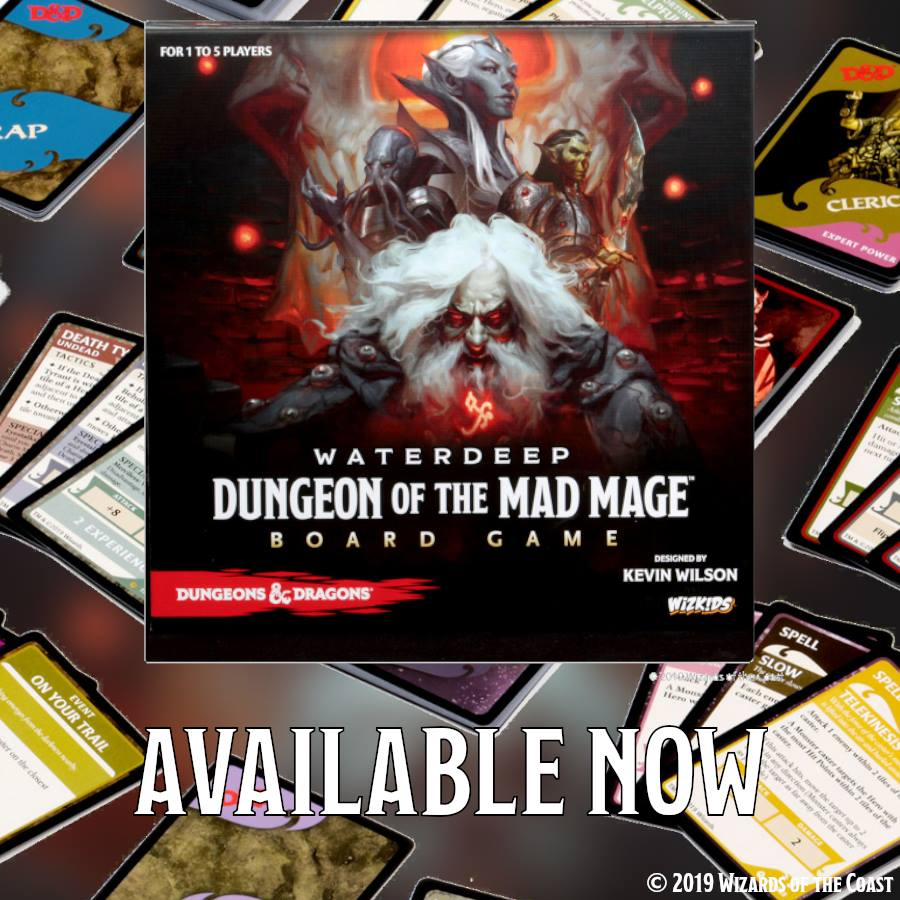 WizKids Delve into Waterdeep With New Board Game And Dice Masters