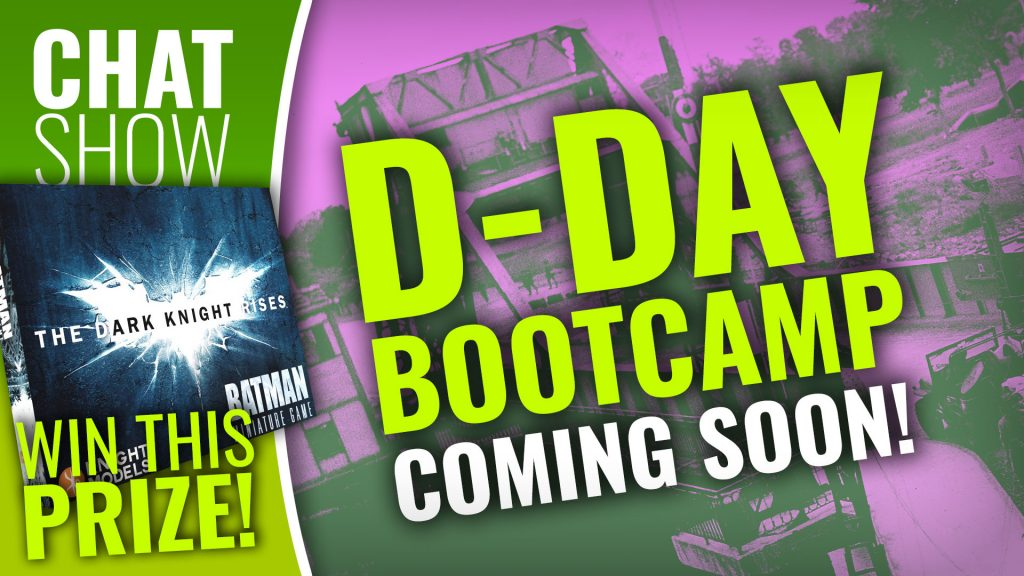 Weekender: D-Day Boot Camp Announced + WIN Batman The Miniatures Game!