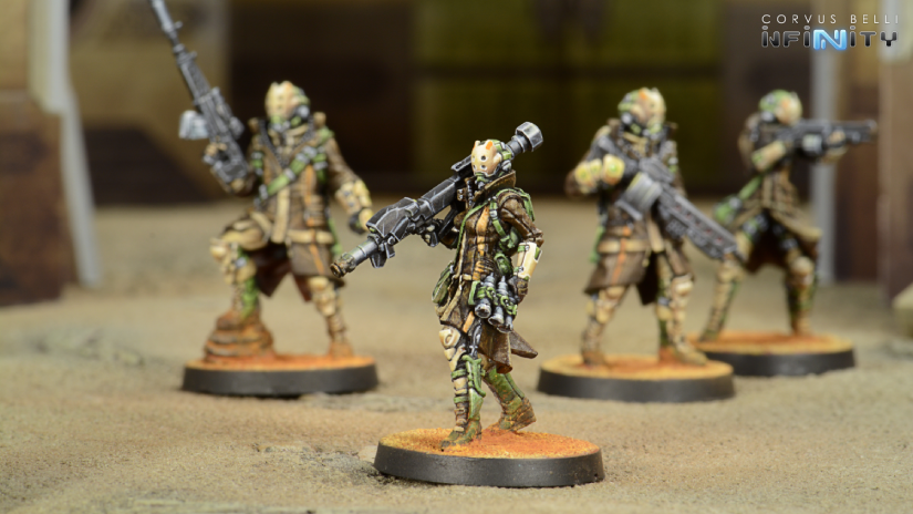 Zhayedan Intervention Troops - Infinity