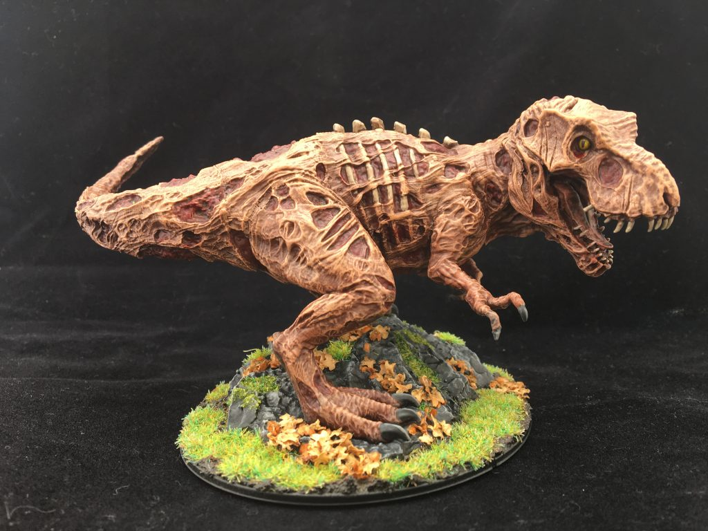 Zombie T-Rex #1 by ghostbear
