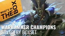 Warhammer Age of Sigmar Champions Unboxing: Savagery Booster Box