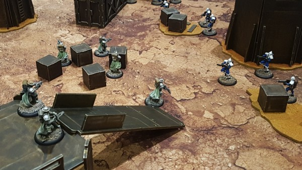 Battle Across The Badlands With PWork Wargames' Mat