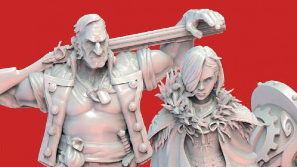 Durgin Bring Beautiful Inneath Miniatures To Kickstarter