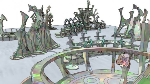 Create Advanced Space Cities With New Sci-Fi Elven Terrain