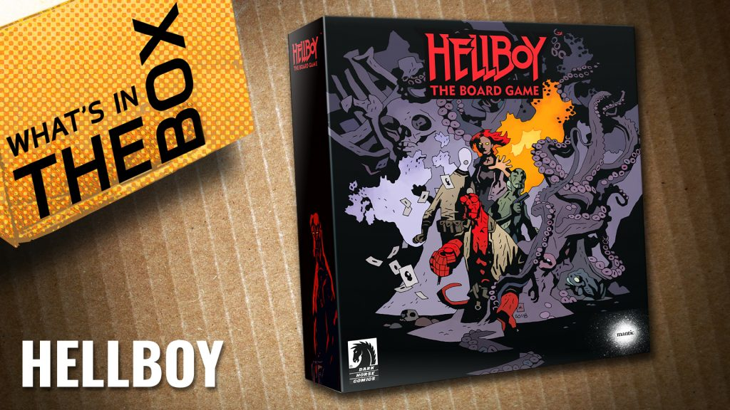 Unboxing Hellboy The Board Game