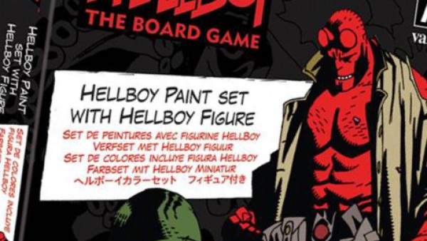 Mantic & Vallejo Team Up On Hellboy Paint Set