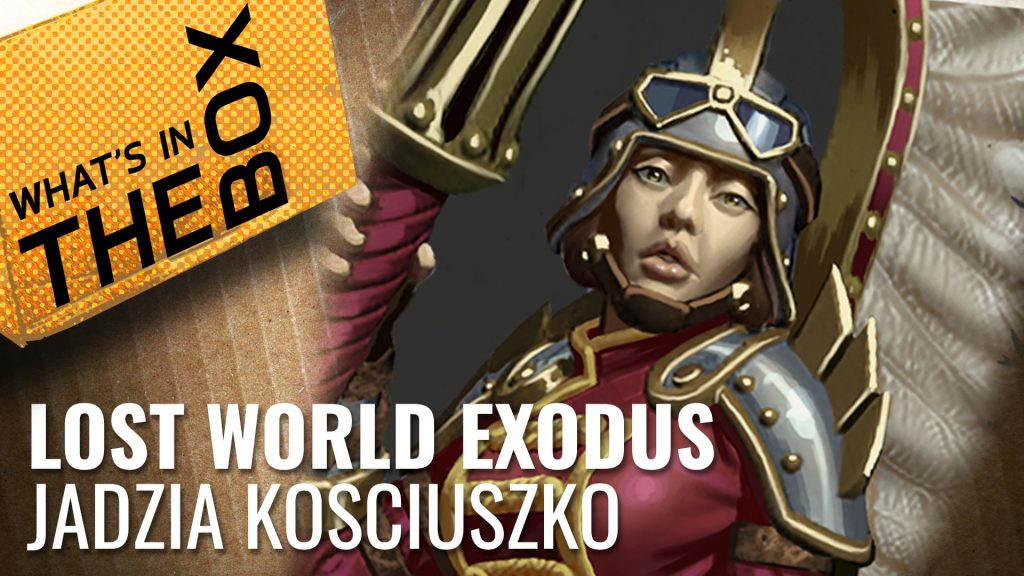Lost World Exodus Unboxing: Jazdia Kosciuszko