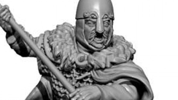 Victrix Preview Dark Age Anglo-Saxon Plastic Commanders