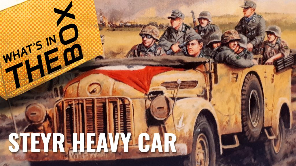 Unboxing: Steyr Heavy Car