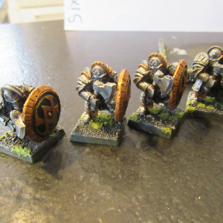 Infantry Unit n°3: Ironbrakers from MOM Miniaturas