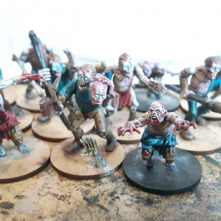 Third point painted... more zombies
