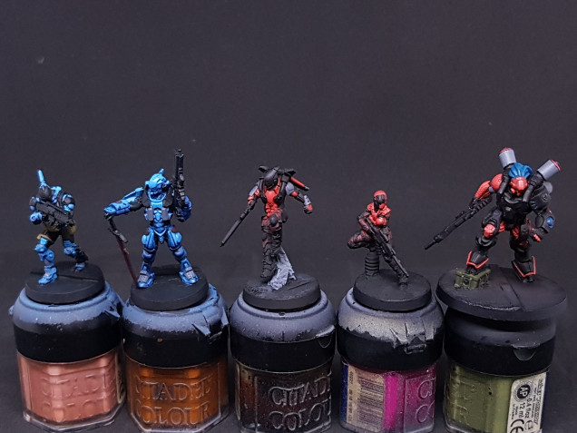 The hungover basecoated Beyond Icestorm (the rest)