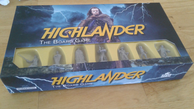 Painting Highlander: the board game.
