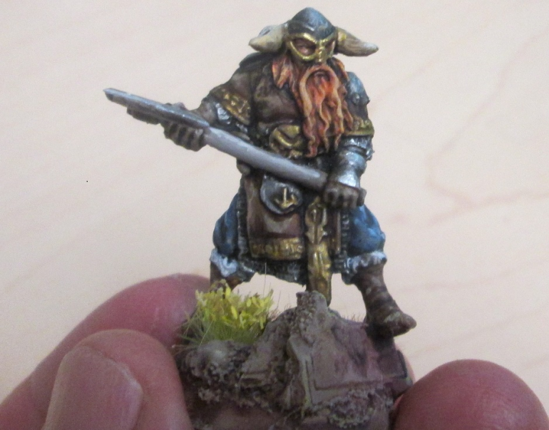 Another character for the christening mash-up on the battle boards.