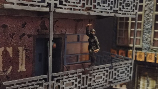 Cyberpunk Diorama – Spring Cleaning Hobby Challenge