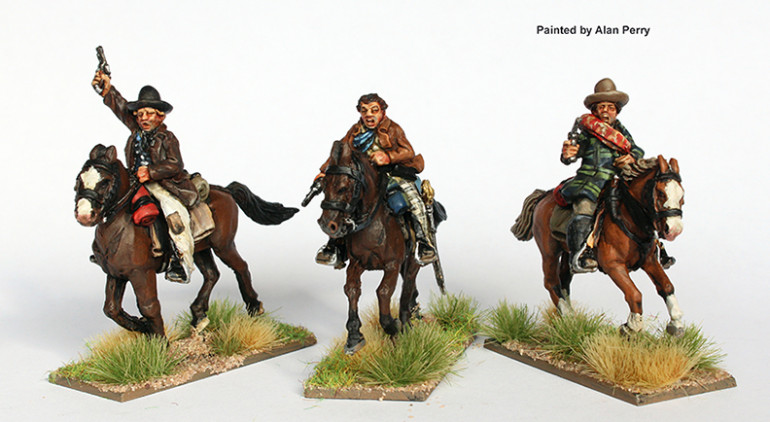 One Option for the Riders, ignore the Heads and weapons. These would be more