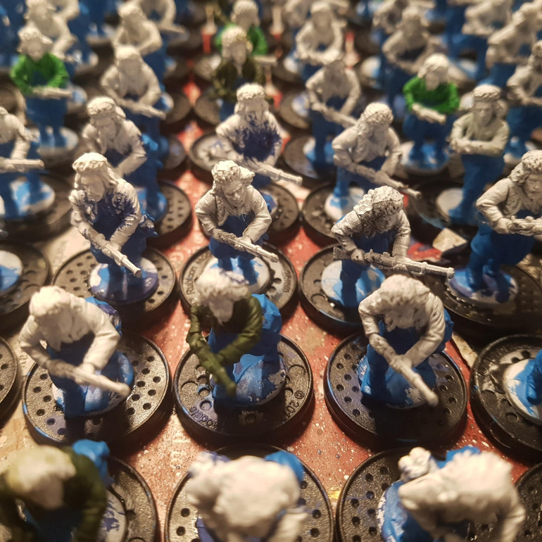4th Company, 53rd Regiment Infantry Progress