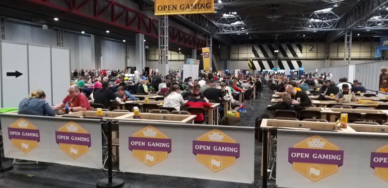 Take Some Time & Relax With Some Open Gaming
