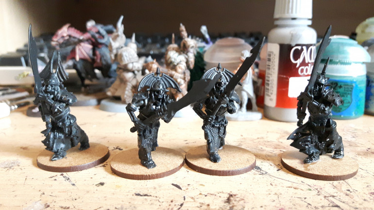 Four hearthguard with heavy weapons