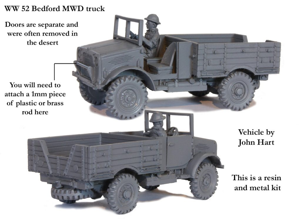 52 Bedford MWD Truck - Perry Miniatures