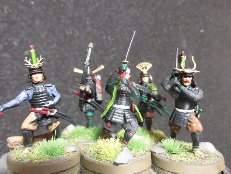 All of the samurai are finished!!!
