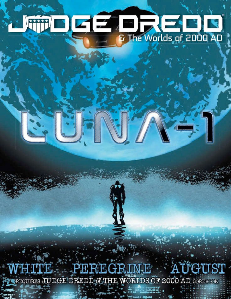 Geek Native Introduce EN Publishing's New Judge Dredd And The World Of 2000AD Supplement Luna-1