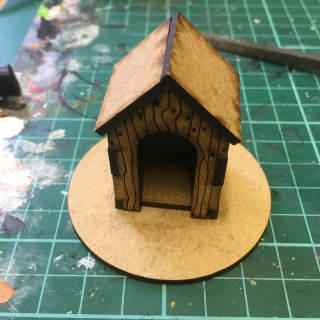 Dice Bags, Craters and a wee Wooden Hut