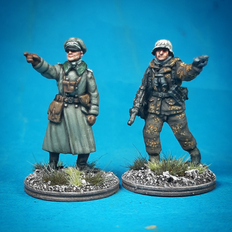 New AB Germans in greatcoats...