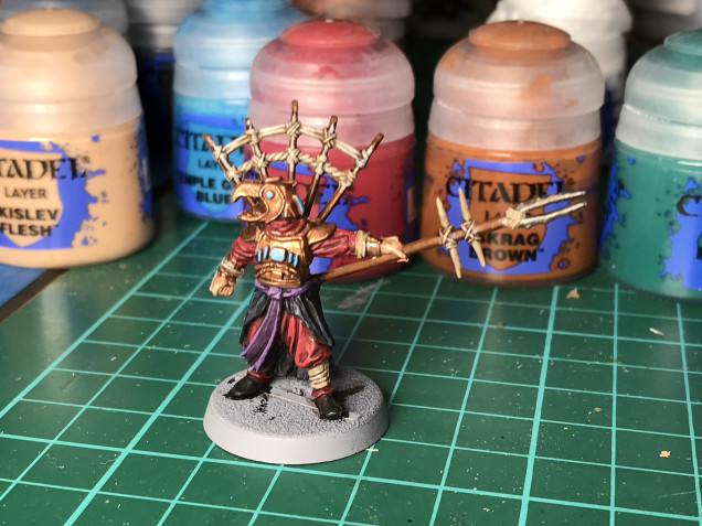 Here is the finished Leader