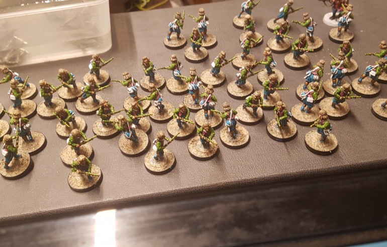 Guardsmen Done and Basing Underway