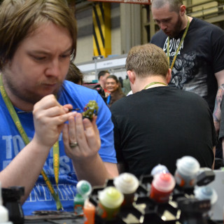 Warren Tests Out The Games Workshop Contrast Paints!