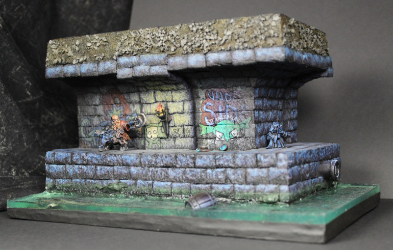 Final Photos!  Diorama Complete! *excited, exhausted screams of triumph*