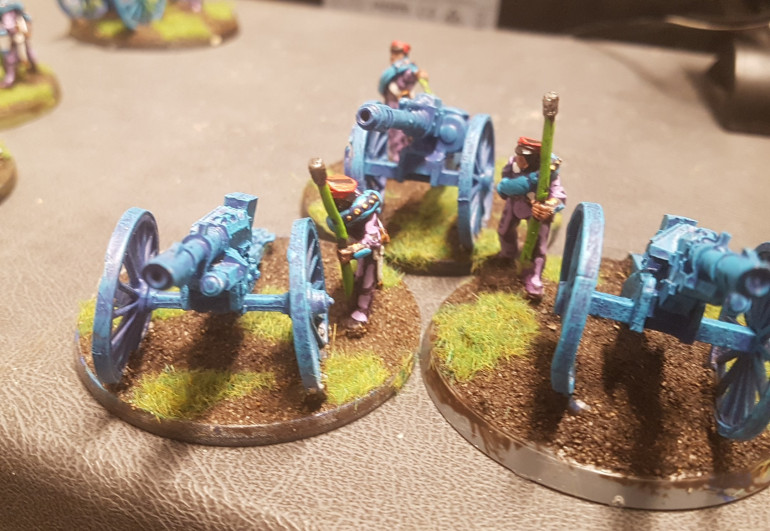 Artillery Finished