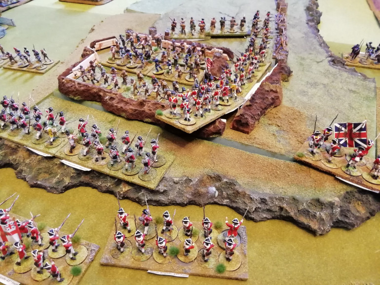 Grenadiers storm the hill