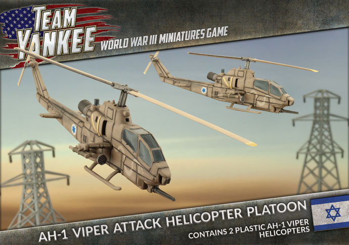 AH-1 Viper Attack Helicopter Platoon - Team Yankee