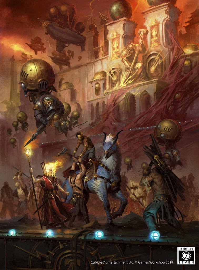 Age Of Sigmar Soulbound RPG Art - Cubicle 7