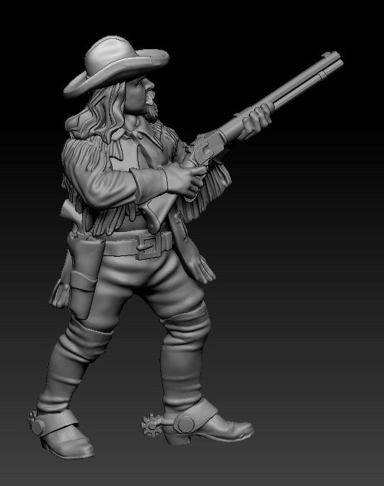 Buffalo Bill Cody #2 - Knuckleduster Miniatures