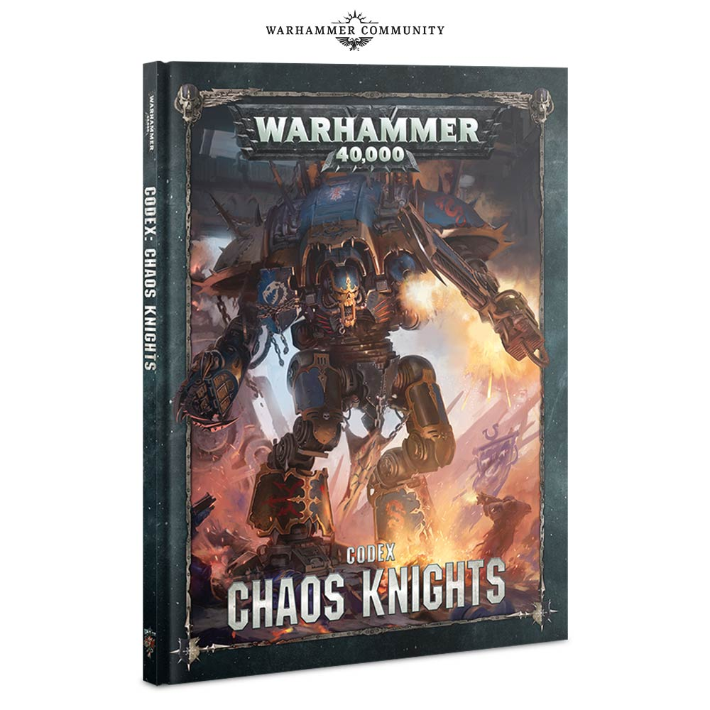 Codex Chaos Knights - Games Workshop