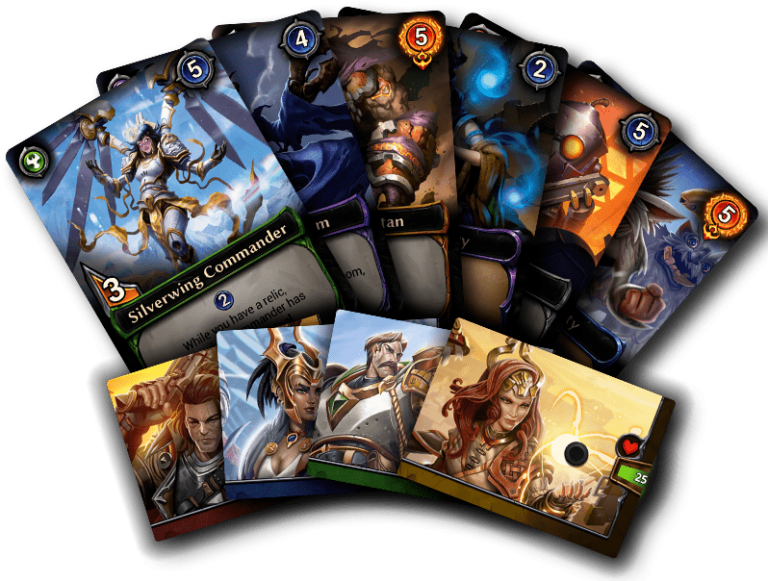 Eternal Chronicles Of The Throne Card Fan - Renegade Game Studios
