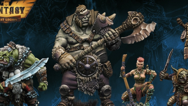 Orcs, Ogres, & Adventurers Take Form On First Legion's Kickstarter