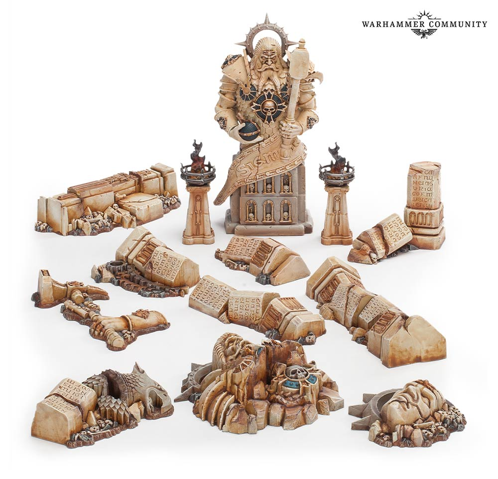 Forbidden Power Scatter Terrain - Age Of Sigmar