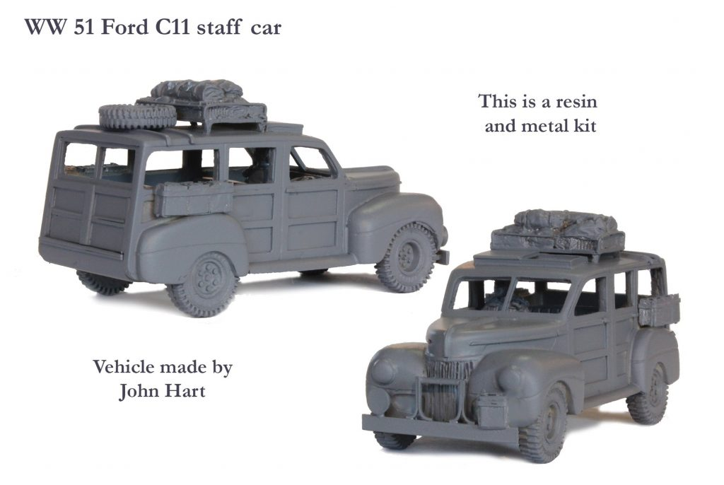 Ford C11 Staff Car - Perry Miniatures