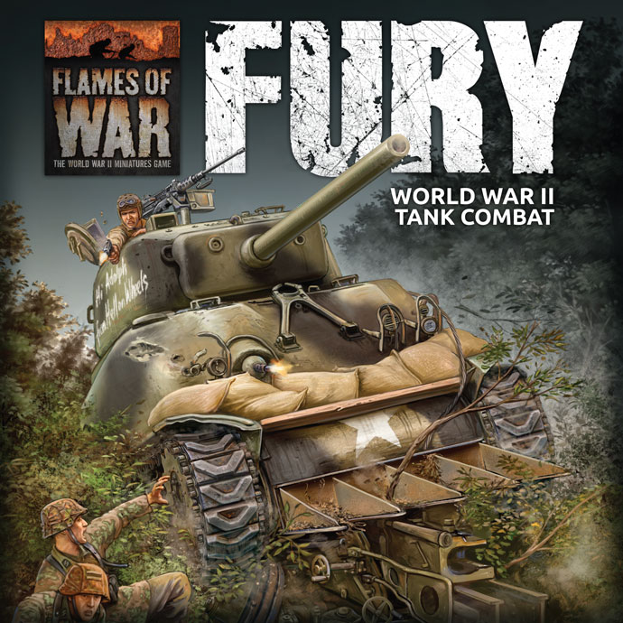 Fury Starter Set - Flames Of War
