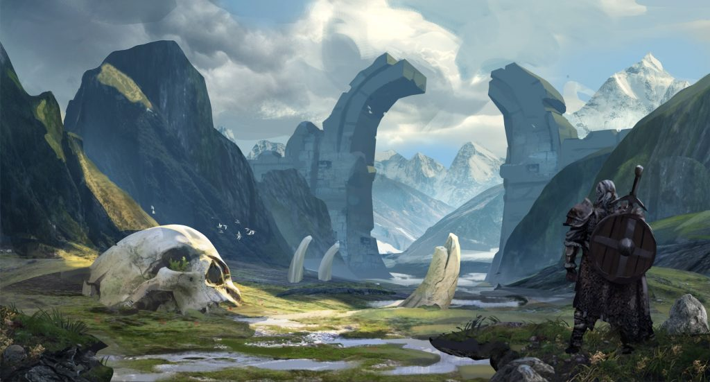 Gates Of Jotunheim by Joris Dewolf
